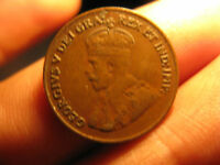 1926 Canada Small Cent Penny Rare Key Date Coin.