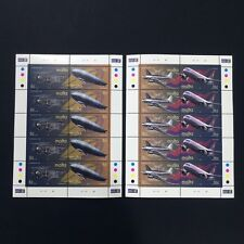 2000 Malta Air Transport Sheet of 10 Stamps Unmounted Mint NH #1136