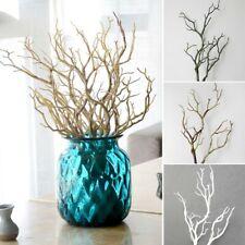 Rama Artificial Falso pequeñas ramas de árbol Decoración Hogar Boda plantas secas