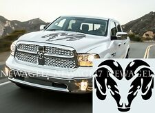 Vinyl Decal Fits Dodge Ram hood 1500 Bed Stripes Truck Stickers Unofficial 3M