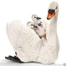Schleich 13718 White swan with cygnets Amaizing detail