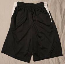 Athletic Works ~ Boys Black/White Active Mesh Shorts & Pockets ~ Size Xl (14-16)