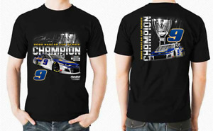 Chase Elliott 2020 NASCAR Cup Series Champion Front and Back T-Shirt S-3XL HOT