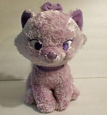 "Disney Aristocats Plush Marie Kitten Cat Purple Pink Violet 12"" Stuffed Toy"