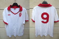 Maillot LILLE LOSC n°9 UMBRO rétro vintage coton shirt football oldschool XL