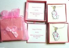 AristoCat Marie Necklaces Personalised Box Bridesmaid, Flowergirl, Birthday Gift