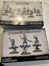 Tzaangor Enlightened + Tzaangors warhammer Age Sigmar SmDisciples Tzeentch