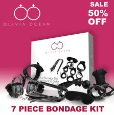Sexy Bondage Set Adult Kit Collar Ballgag Blindfold HandCuffs cuff Fetish A36