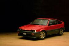 Autoart 1/18 Honda Ballade Sports CR-X Si CRX Classic Die-Cast Model Car Red JDM