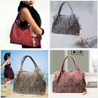 Vintage Hollow out Women PU leather Handbag Kardashian Bag Luxury shoulder bag