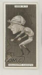 1925 Player's Racing Caricatures Tobacco Lewis Bilbee Rees #31