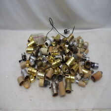 35 Plus Assorted Of New And Used Electrical Light Sockets Lamp Holders & Other