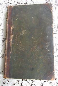 Antique Hand Written Accounts Journal 1839-1870 Pennsylvania Farmer