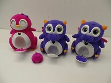Lot Bossa Nova Robotics 1-Penbo and 2-Skylee with 1-mini plush