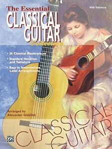 The Essential Classical Guitar Collection: With Tablature Sheet music Book The