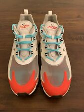 Nike Air Max 270 React AO4971 200 Light Beige Chalk Platinum Tint Mens Size 12.5