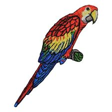 Macaw Parrot Applique Patch (Iron on)
