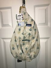 NEW Kavu ROPE BAG backpack limited edition sling Pineapple Express