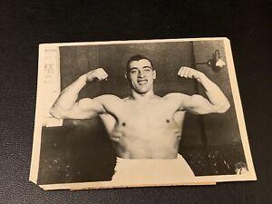 Stunningly Clean 1929 Primo Carnera Original Type 1 Boxing Photo PSA Ready Mint