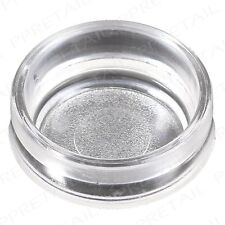 12 x SMALL CLEAR CASTOR CUPS Carpet/Floor Chair/Sofa Furniture Protector Caps