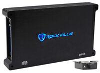 Rockville dB14 4000 Watt Peak/1000w RMS Mono 2 Ohm Amplifier Car Audio Amp