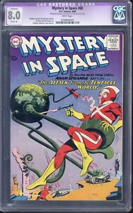 Mystery in Space  #60 CGC 8.00 Restored