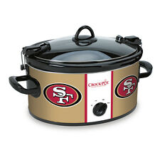 San Francisco 49ers Crock Pot Slow Cooker NFL Football Party Sports SF Tailgate