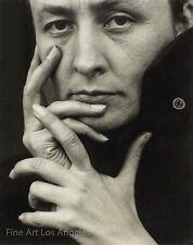 "Alfred Stieglitz Photo  ""Hands"" Georgia O'Keeffe, artist, 1918"