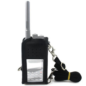 Retevis RT3S Two Way Radio Leather Carrying Holder Holster Multi-function
