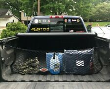 Truck Bed Envelope Style Trunk Mesh Cargo Net for Chevy Silverado 2013 - 2020