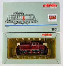 MARKLIN H0 3664 - DIESELLOK BR 260 921-2 DB - DIGITAL - COMO NUEVO - TOP!