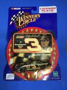 DALE EARNHARDT SR. #3 2000 Goodwrench 1:64 NASCAR Winners Circle w/Mini License