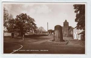 NORTH CHURCH AND MEMORIAL, BALFRON: Stirlingshire postcard (C61152)