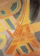 EIFFEL TOWER - ART POSTER 24x36 - DRAWING PARIS FRANCE TRAVEL 36081