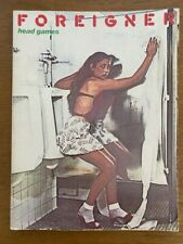 Foreigner Head Games Song Book Piano Guitar Vocal Sheet Music 1979