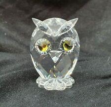 Swarovski Crystal Mini Owl 010014 NR 038 000