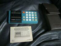 Vintage Calculator CASIO Personal Mini Electronic Casio