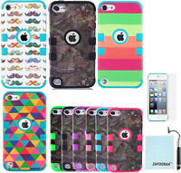 Shockproof Heavy Duty Case Cover For Apple iPod Touch 7th 6th & 5th Generation