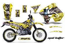 AMR Racing Suzuki RMX 250S Number Plate Graphics Kit Bike Decals 96-98 MADHTTR Y