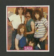SAGA Band Michael Sadler Ian Crichton Jim Gilmour - Rare Card from Germany