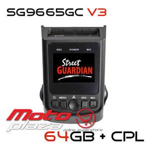 Street Guardian SG9665GC V3 64GB Full HD 1080p Dash Cam Drive Recorder