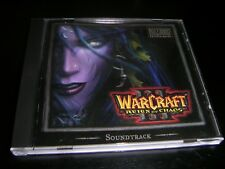 Warcraft III Reign of Chaos Original Soundtrack Music CD from Collectors Edition