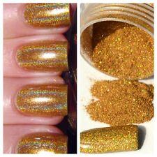 Sb Holográfico Rub en oro Espejo cromo pigmento en polvo ** ** polvo de uñas de espejo