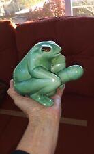 Vintage Naughty Frog shot glass holder novelty, adult, ceramic, penis