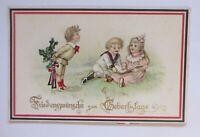 Geburtstag, Kinder, Mode, Blumen,  1930 ♥ (53194)