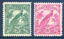 New Guinea 1932 Birds no dates 2½d & 3½d mint light hinge (2019/10/16#03)