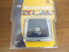 *NEW* Lexar Media USB 2.0 6-in-1 High Speed Multi-Card Reader RW018