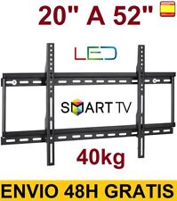 "Soporte de pared para tv lcd led 4K smart tv plasma 20"" a 52"" 40kg SUPER OFERTA"