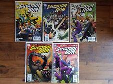 Dc Comics Lot: Salvation Run #1-4, 6 (2008)