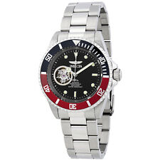 Invicta Pro Diver Automatic Black Dial Mens Stainless Steel Watch 20435